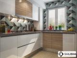 Armadio da cucina di legno della Germania dell'hotel dell'isola domestica moderna UV della mobilia