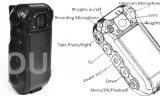 Cámara Policía HD1080p con lente 120degree y Mini External Cámara