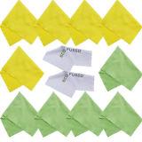 Panno di Cutom Pakage 100%Polyester per pulizia del telefono
