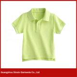 Camiseta de encargo del polo del niño para el niño (P92)