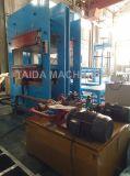 고무 착용 강선 격판덮개 Omron PLC를 가진 가황 압박 치료 기계 가황기