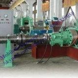 Xj65 Pinのバレルの冷たい供給の管の放出ラインのためのゴム製押出機機械