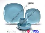 Blue cerâmico Dinner Set (16PCS)