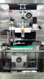 De automatische Dubbele Hoofd Hete Fles krimpt de Machine van de Etikettering van de Koker