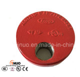 FM/UL Ductile Iron Grooved Cap con Eccentric Hole-1nuo Brand