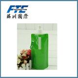 Botella plegable al por mayor de calidad superior de Spotes con el carabinero