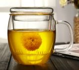 Caneca Mão-Fundida, copo de vidro, caneca do chá, copo de chá resistente ao calor