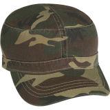 Gorra de béisbol del camuflaje de la tela cruzada del algodón
