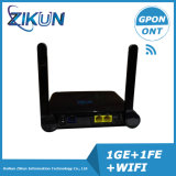 WiFi ONU de FTTH 4LAN avec l'antenne externe (ZC-500W)