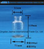 Tarro de cristal Ancho-Articulado para el almacenaje del alimento con el casquillo del corcho