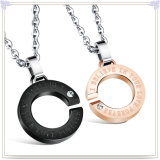 De Halsband van de Tegenhanger van de Manier van de Juwelen van het Roestvrij staal van de Juwelen van de manier (NK723)