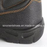 Работа ботинок PU безопасности пальца ноги людей стальная Boots RS6166