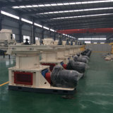 Anel de grande escala morre tamanhos de dobula verticais Grama Madeira Sawdust Alfalfa Bamboo Pellet Mill
