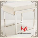 ホテルの腰掛け(RS161801)の腰掛けのバースツールのクッションの屋外の家具店の腰掛けの店の腰掛けの居間の腰掛けのレストランの家具のステンレス鋼の家具