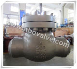 """Válvula de cheque sellada de alta presión soldada tope Wc9/Wc6 (8 """" - 2500#)"""
