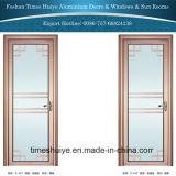 1.0mm~2.0mm rosafarbene Farben-Aluminiumbadezimmer-Tür