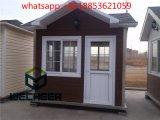 Casa móvel pré-fabricada como a casa de Gurad ou a caixa de sentinela