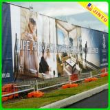 Banderas de la visualización de la calle de la bandera de la publicidad al aire libre del encerado