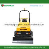 2 Tonnen-vibrierende Straßen-Rolle mit Bulldozer-Schaufel