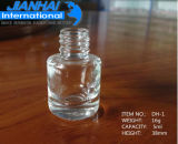 bottiglia di vetro del polacco di chiodo 2.5ml con la protezione con la spazzola
