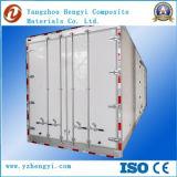 El panel del panal de FRP para la carrocería del carro de la carga seca