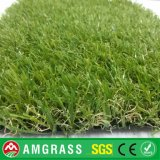 Relvado verde de Lawn e Synthetic Grass para o jardim