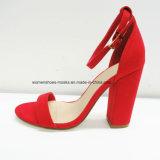 Новые женщины прибытия продают обувь оптом высокой пятки коренастую причинную