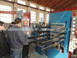 出版物またはゴムペーバーのタイルの鋳造物ゴムタイルの出版物を治す50tゴム製タイル
