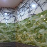 Panneau de mur enduit UV de vinyle de PVC