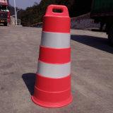 Plasticade Econocade II Traffic Drum - 6in. Linha de classificação do engenheiro