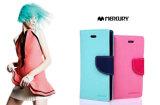 携帯電話はiPhoneのための水星の札入れの空想日記の革箱を6つの電話箱包装する