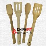 Bamboo утвари кухни 4PCS варя инструменты (CB06)