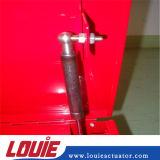 Levantar el resorte de gas con diverso Connerctors de nylon usado para la caja de herramientas