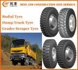 Bloco robusto do teste padrão do pneu radial do barramento do pneumático do caminhão de mineração (1100r20)
