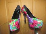 2016 chaussures de robe africaines de femmes de haut talon de tissus d'Ankara (HCY02-1800)