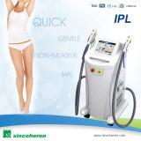 Shr aprovado FDA IPL Opt máquina para a remoção permanente da pigmentação do IPL da remoção da acne do IPL da remoção do cabelo e do rejuvenescimento da pele