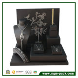 Fabricante PU Leather Jewelry Display Stand