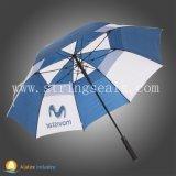 Drucken-Handbuch-geöffneter faltender Regenschirm