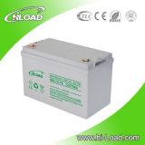 Bateria solar elevada do gel da capacidade 12V 100ah