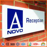 Panneau composé en aluminium de panneau indicateur/signe/panneau de la publicité