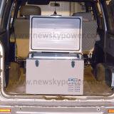 12V de Zonne Aangedreven Plastic Koelere Doos van gelijkstroom