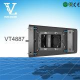 Vt4887 Double Line Array 8inch Système de Sonorisation Audio sonore