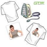 Papel do Sublimation da alta qualidade 120GSM para o t-shirt 100% do algodão no tamanho A3/A4