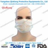 Earloop 1 Falte-Weißbuch-Respirator und Wegwerfgesichtsmaske Qk-FM011