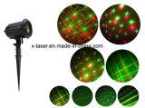 Decoratie van Kerstmis van de Tuin van de laser de Lichte met Afstandsbediening