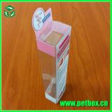 Empaquetado de la caja del claro de polaco de la impresión plegable plástica para el esmalte de uñas