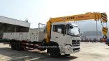 hing teleskopischer gerader Lastwagen-Kran-LKW der Hochkonjunktur-12t mit Kran ein