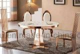De Moderne Eettafel van het Meubilair van het Huis van het roestvrij staal (A6688#)