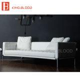 Comprar Geniune italiano o sofá de couro do sofá 3seater