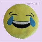 Ammortizzatore sveglio divertente del cuscino di Emoji con colore giallo